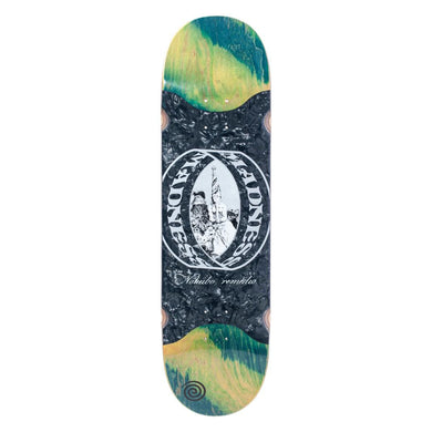 Madness - Nohubo Ring Green Rip Slick 8.625 R7 Skateboard Deck