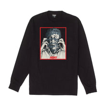 Load image into Gallery viewer, Hockey Barbwire Long Sleeve Tee Black