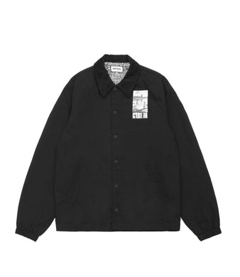 Fucking Awesome - C'EST FA Coaches Jacket - BLK