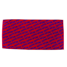 Load image into Gallery viewer, Fucking Awesome - Fucking Awesome Towel Purple/red