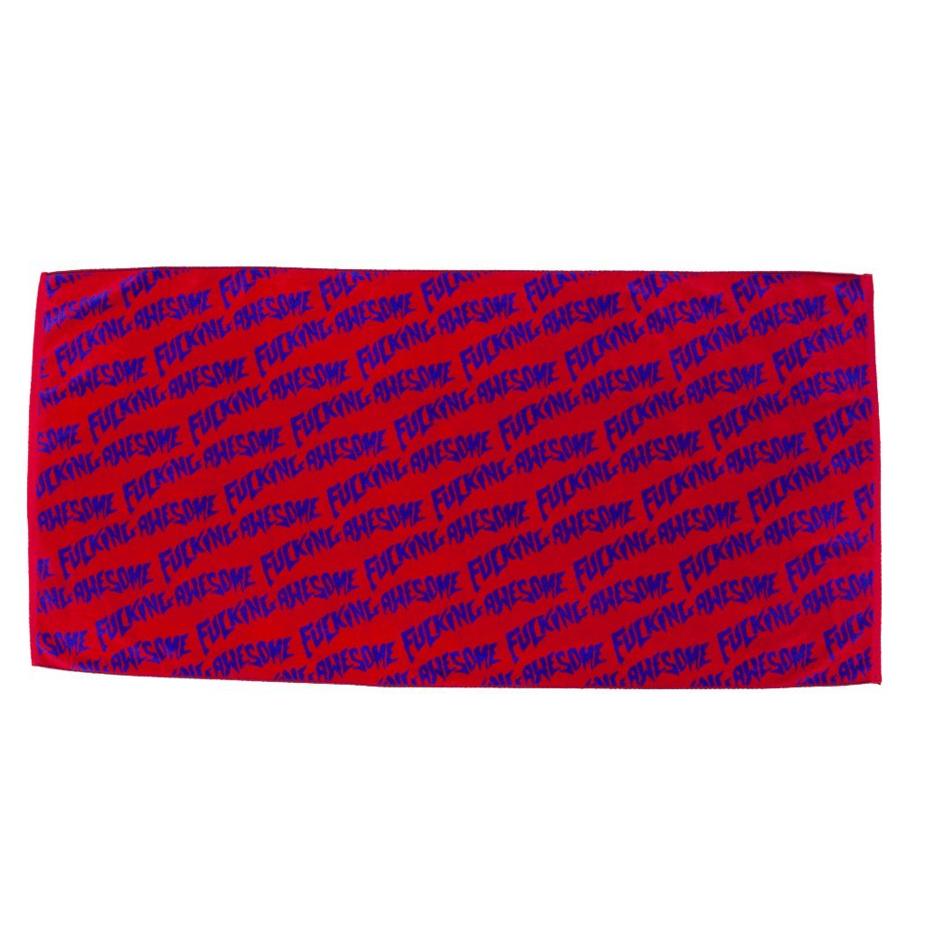 Fucking Awesome - Fucking Awesome Towel Purple/red