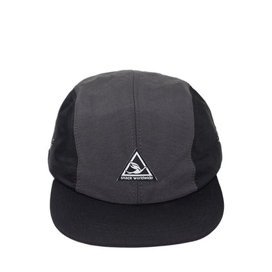 Snack - Super Sport 4 Panel Cap Black/Charcoal