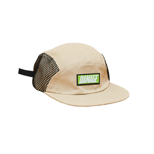 Damage corp. - 5 Panel cap Beige