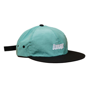 Damage corp. - 6 Panel Cap Black