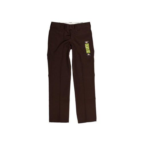 Dickies 873 Slim Straight Work Pant Chocolate Brown