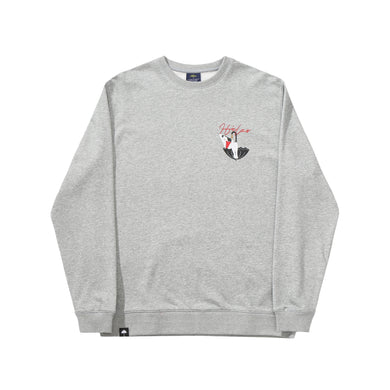 Helas - Bubbles Crewneck Heather Grey