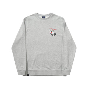Helas - Bubble L/S Tee Heather Grey