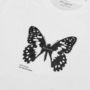 Bye Jeremy - Butterfly T-shirt White