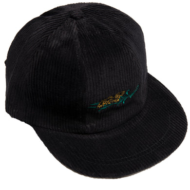 Carpet Co. 7 panels corduroy cap black