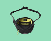 Load image into Gallery viewer, Bumbag Hi Viz Mini Mega Hip Pack Black