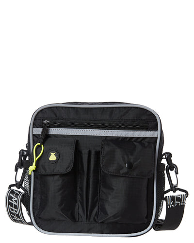Bumbag Hi Viz Utility Shoulder Bag black