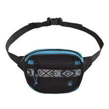 Load image into Gallery viewer, Bumbag Oaker Mini Mega Hip Pack Black/Blue