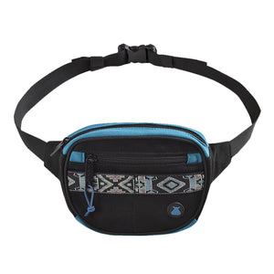 Bumbag Oaker Mini Mega Hip Pack Black/Blue