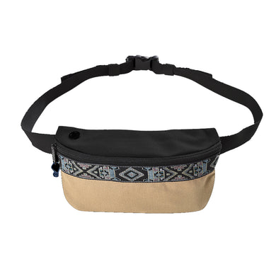 Bumbag Oaker Pouch Hip Pack Tan