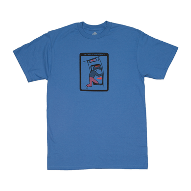Cleaver - Emergency Tee Blue