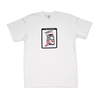 Cleaver - Emergency Tee White