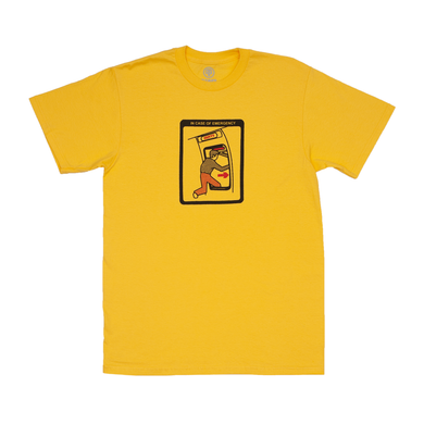 Cleaver - Emergency Tee Yellow