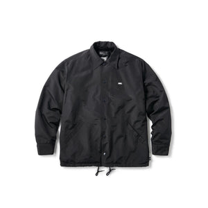 FTC Fur Lined Coach Jacket Black