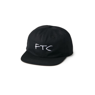 FTC Signature Logo 6 Panel Black