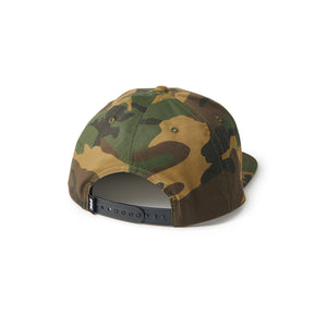 FTC Small Logo 6 Panel Camo