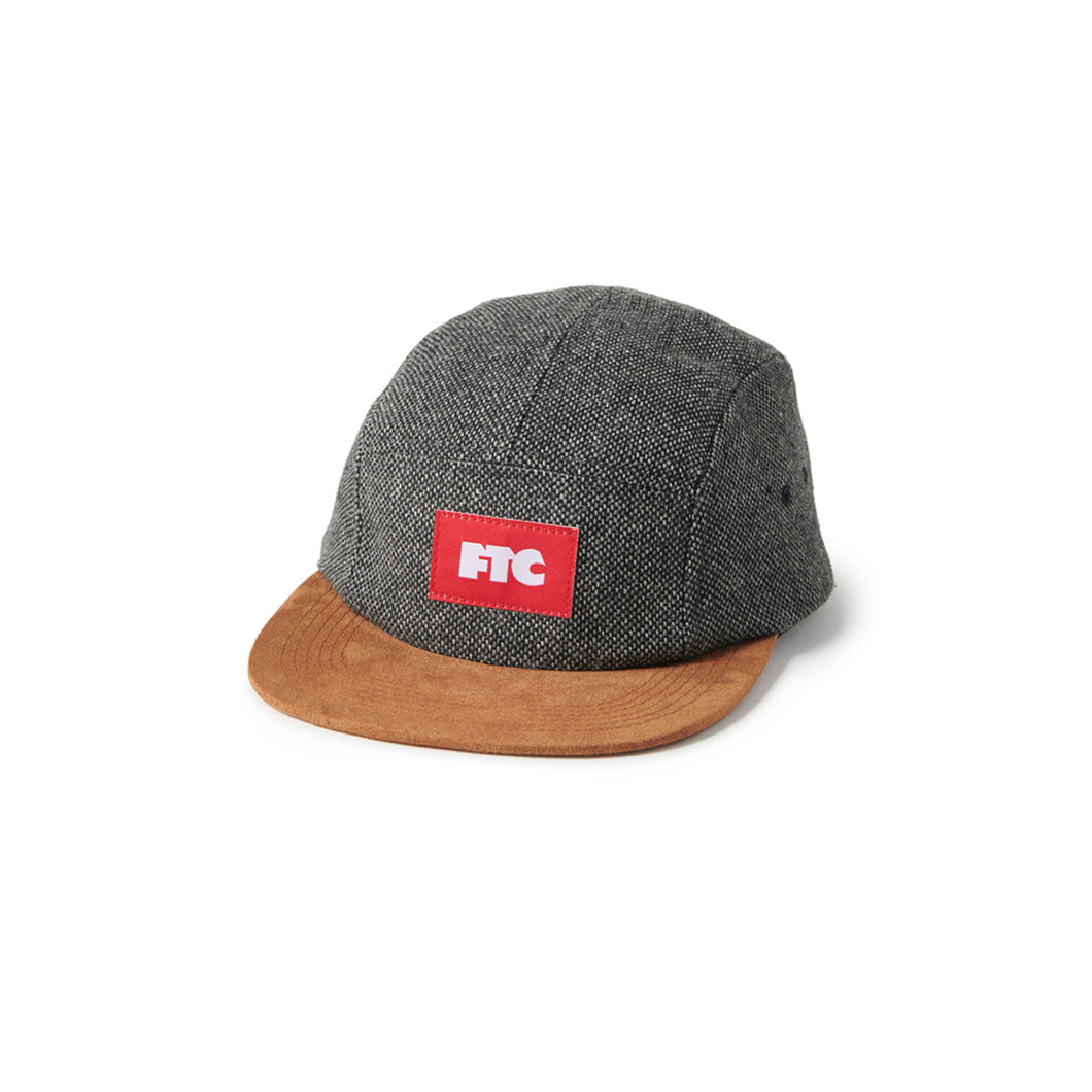 FTC Tweed Camp Cap Charcoal