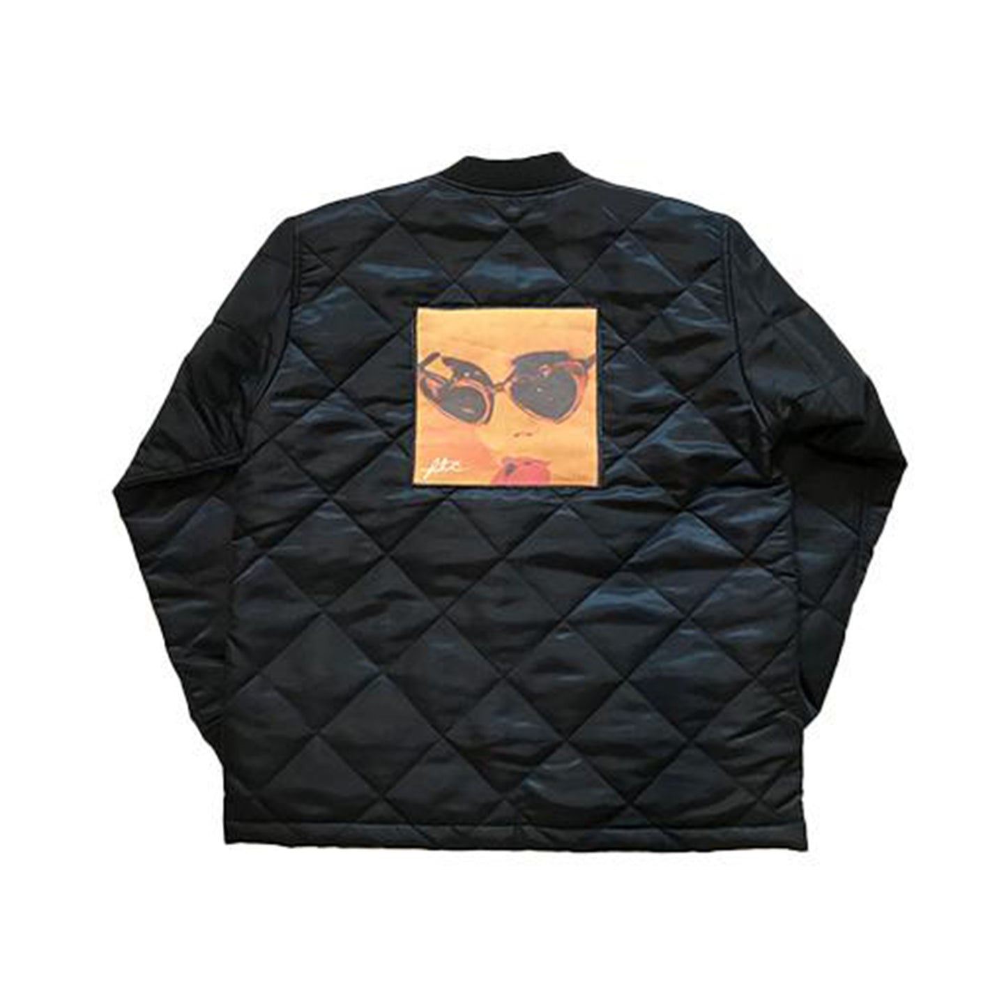 FTC Quilted Work Jacket Black