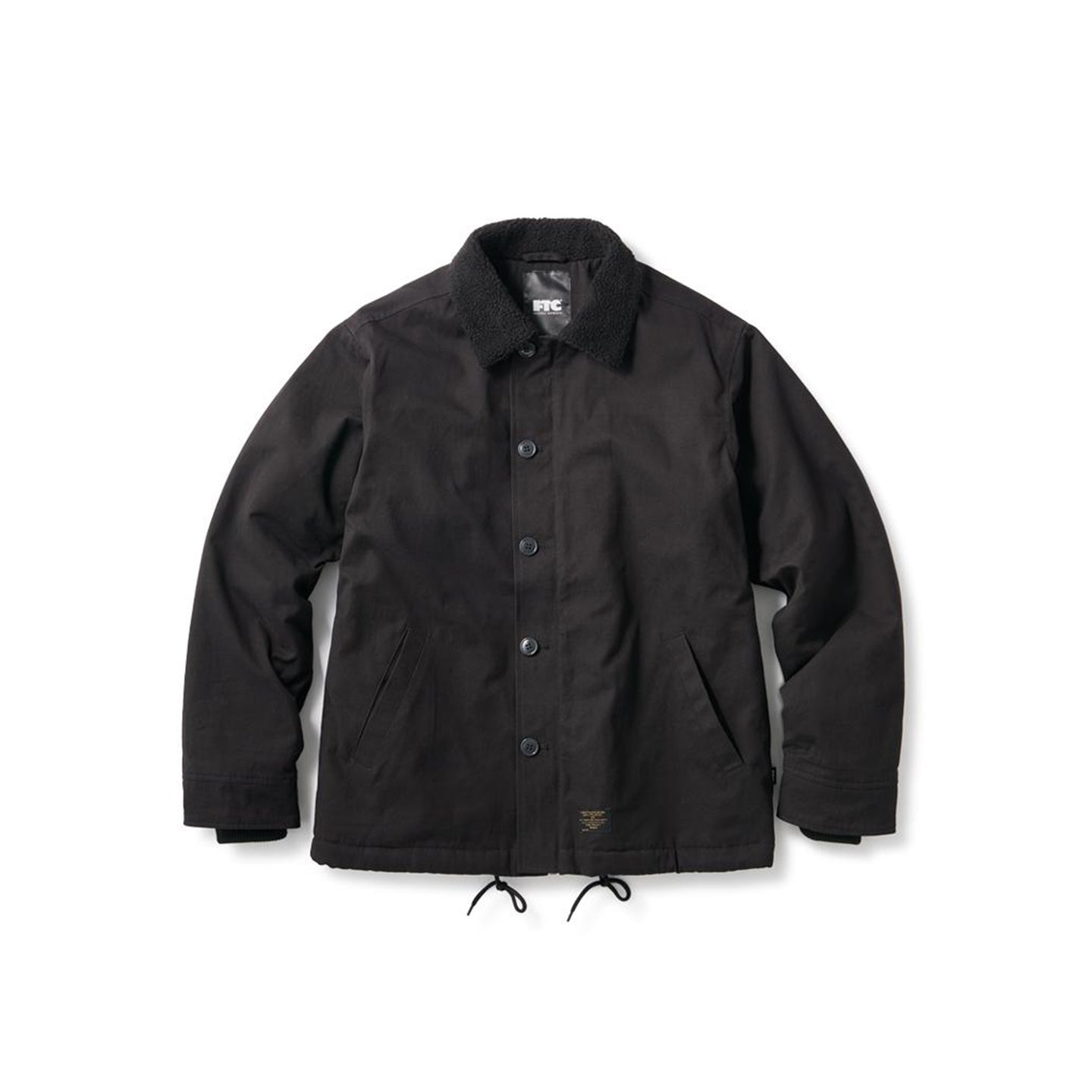 FTC N-1 Deck Jacket Black