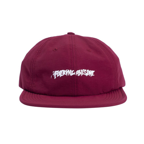 Fucking Awesome Stamp 6 Panel Snapback Maroon