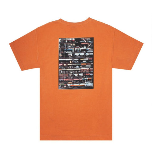 HOCKEY DIRTY BLVD TEE ORANGE