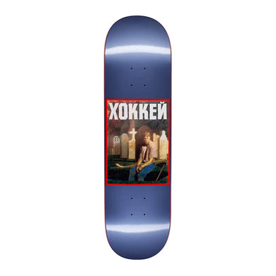 Hockey - Nik Stain Deck - Metallic Blue 8.5