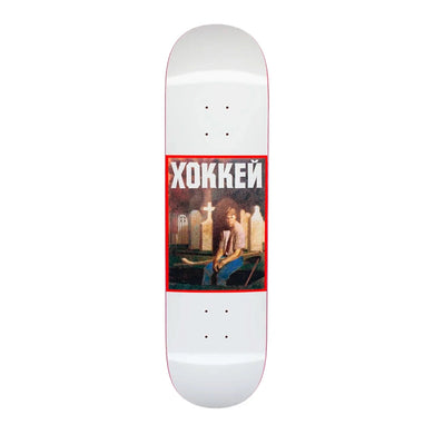 Hockey - Nik Stain Deck - White 8.25