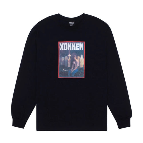 Hockey - Nik Stain L/s Tee Black