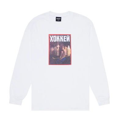 Hockey - Nik Stain L/s Tee White