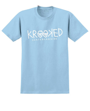 Krooked Eyes Tee Powder Blue