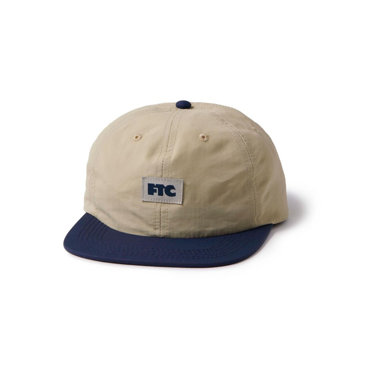 FTC - Nylon Small Og 6 Panel Hat Khaki