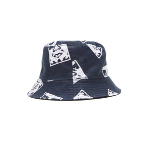 Dickies x Obey - Reversible Bucket Hat Dark Navy