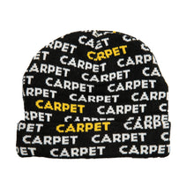 Load image into Gallery viewer, Carpet Cop. Repeat beanie black