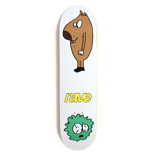 Rave Skateboards Scrawl deck 8.25
