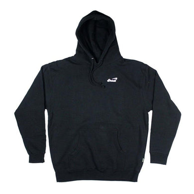 Snack Alive Embroidered Hoodie Black