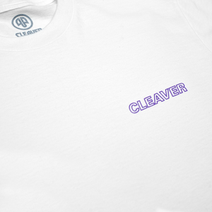 Cleaver - Spreading Tee White