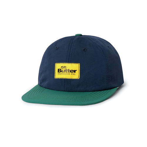 Butter Goods Ventura 6 Panel Cap Navy/Teal