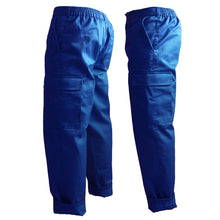 Load image into Gallery viewer, Yeah Le Yeah Cargo Pants Blue