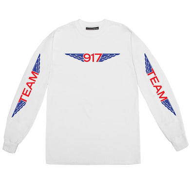 Call Me 917 - Team Wings Longsleeve T-Shirt