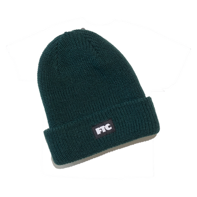 FTC - Box Logo Beanie Green