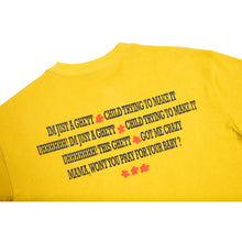 Load image into Gallery viewer, Carpet Co. Hood Baby tee yellow