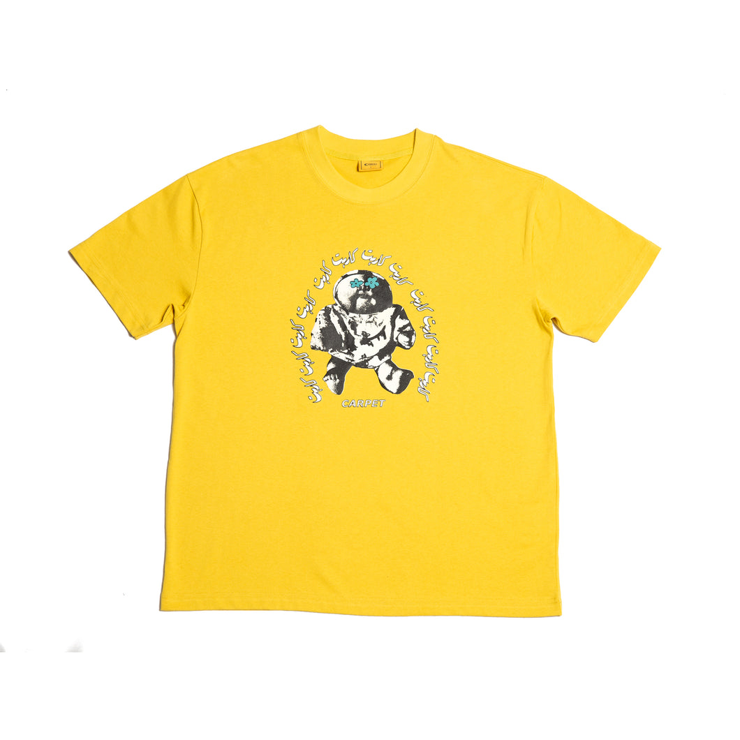 Carpet Co. Hood Baby tee yellow