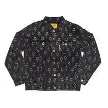 Load image into Gallery viewer, Carpet Co. Ankh jean jacket black