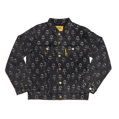 Carpet Co. Ankh jean jacket black