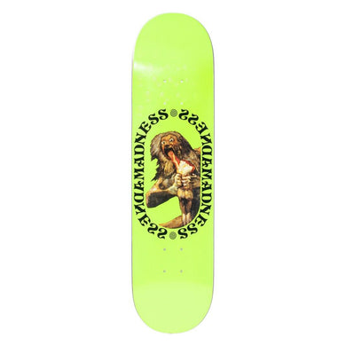 Madness - Son Neon Yellow 8.0 R7 Skateboard Deck