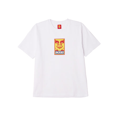 Dickies x Obey - Heavyweight Tee White